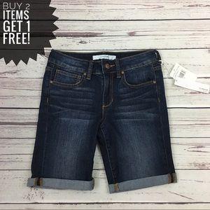Joe's Jeans Cuffed Bermuda Shorts NWT